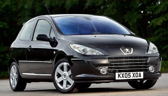 Las 16 Fallas Comunes del Peugeot 307
