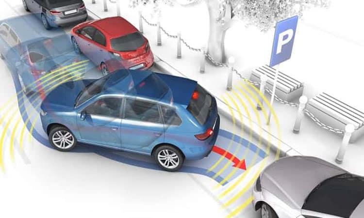 sensores de estacionamiento