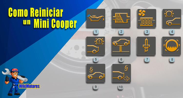Imagen de Reiniciar Mini Cooper 2