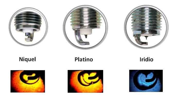 Tipos de Bujías