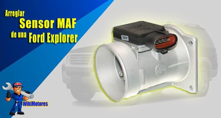Arreglar el Sensor Maf de una Ford Explorer 1
