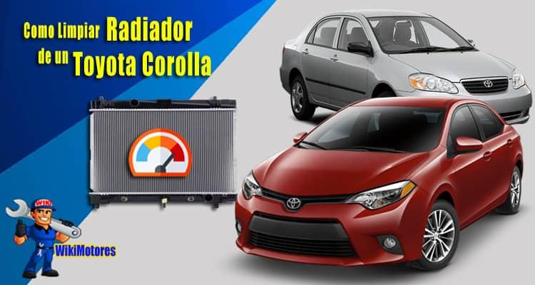 Como Limpiar el Radiador en un Toyota Corolla 1