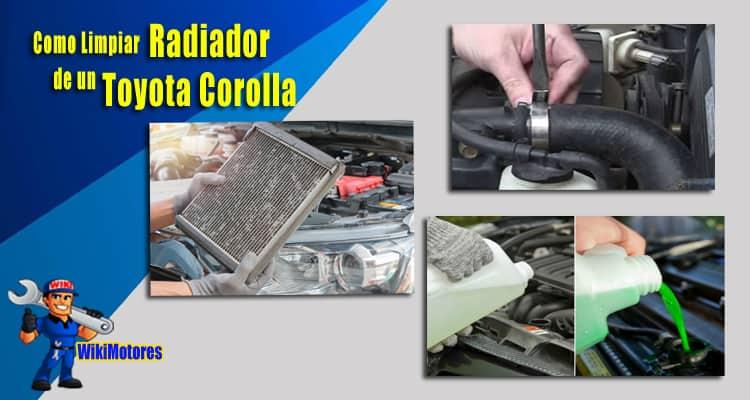 Como Limpiar el Radiador en un Toyota Corolla 3