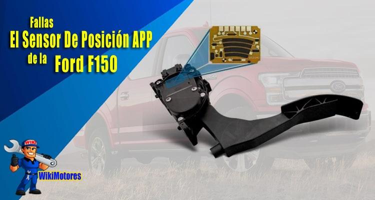 Fallas Con El Sensor De Posicion Del Pedal Del Acelerador De La Ford F150 2