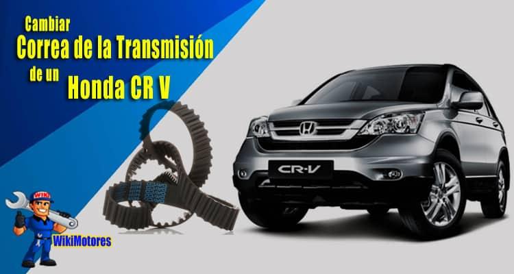 Imagen Cambiar la Correa de la Transmision en un Honda CR V 2
