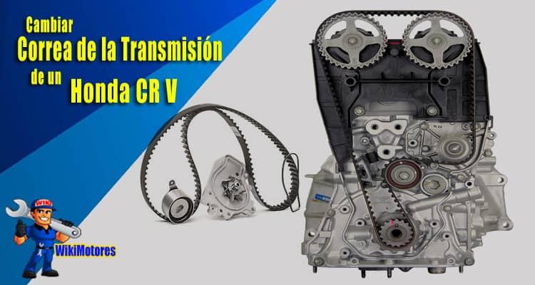 Imagen Cambiar la Correa de la Transmision en un Honda CR V 3