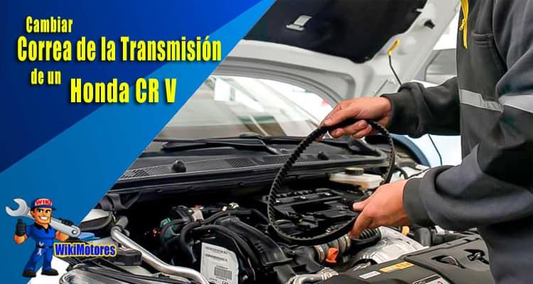 Imagen Cambiar la Correa de la Transmision en un Honda CR V 4