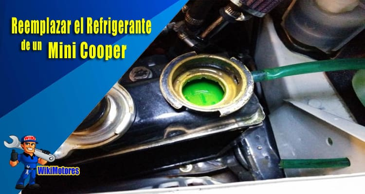 Imagen de Reemplazar Refrigerante de Mini Cooper 2
