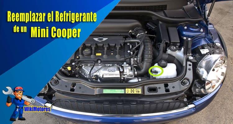 Imagen de Reemplazar Refrigerante de Mini Cooper 3