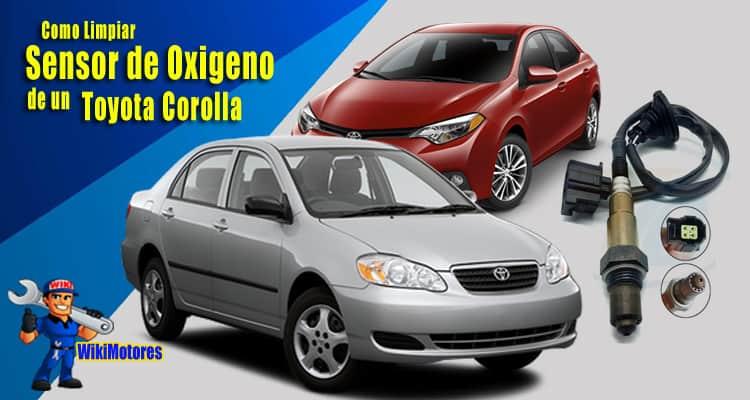 Limpiar el Sensor de Oxigeno de un Toyota Corolla 1
