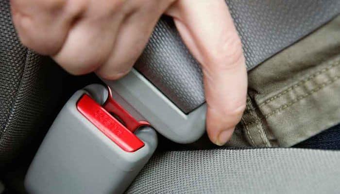 Partes del cinturón de seguridad