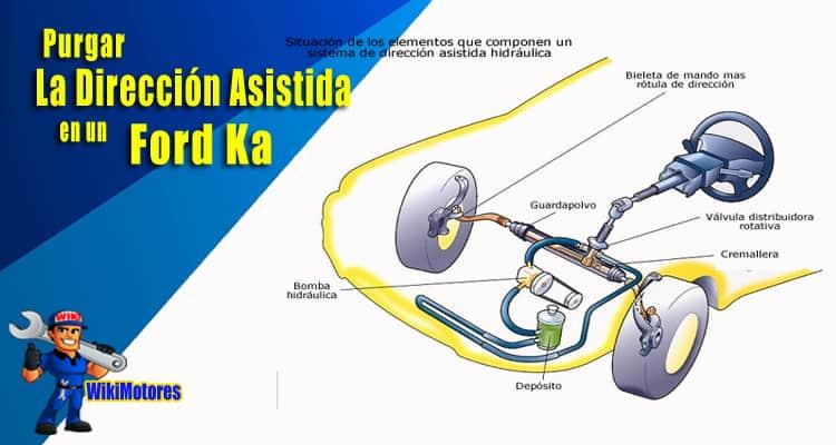 Purgar La Direccion Asistida En Un Ford Ka 3