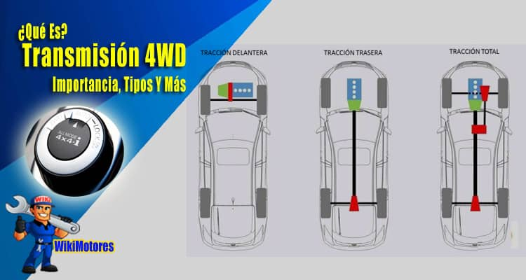 Transmision 4WD 5