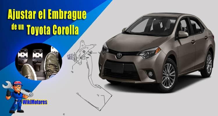 Ajustar el Embrague de un Toyota Corolla 1