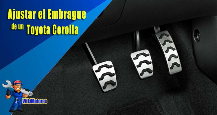 Ajustar el Embrague de un Toyota Corolla 2