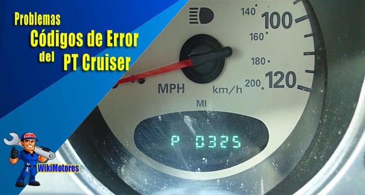 Problemas de Codigos de Error del PT Cruiser 2