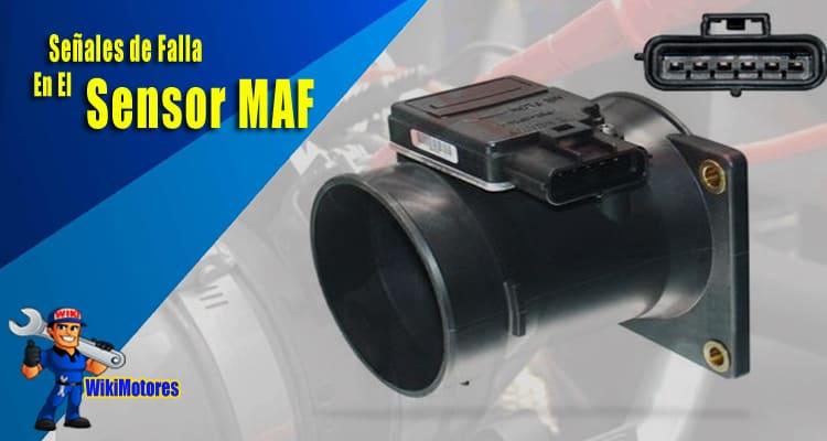 Senales de Falla en el Sensor Maf 1