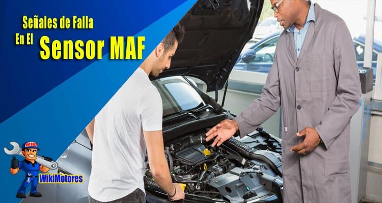 Senales de Falla en el Sensor Maf 3