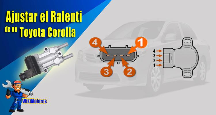 Ajustar el Ralenti en un Toyota Corolla 2