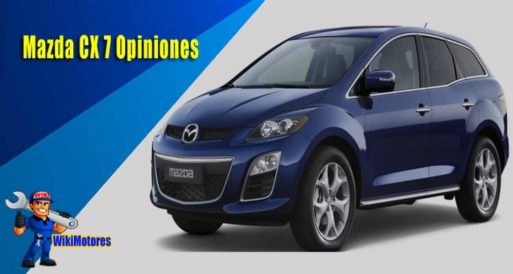 Mazda CX 7 Opiniones 1