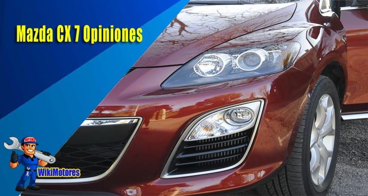 Mazda CX 7 Opiniones 2