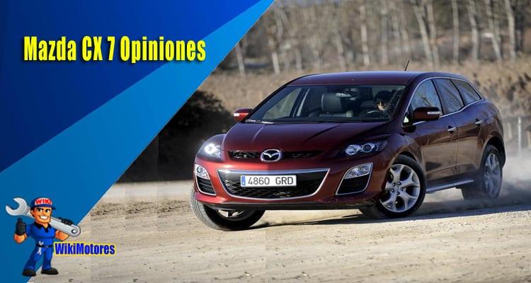 Mazda CX 7 Opiniones 4