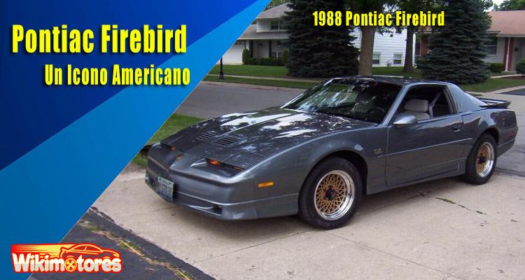 Pontiac Firebird, Un Icono Americano 10