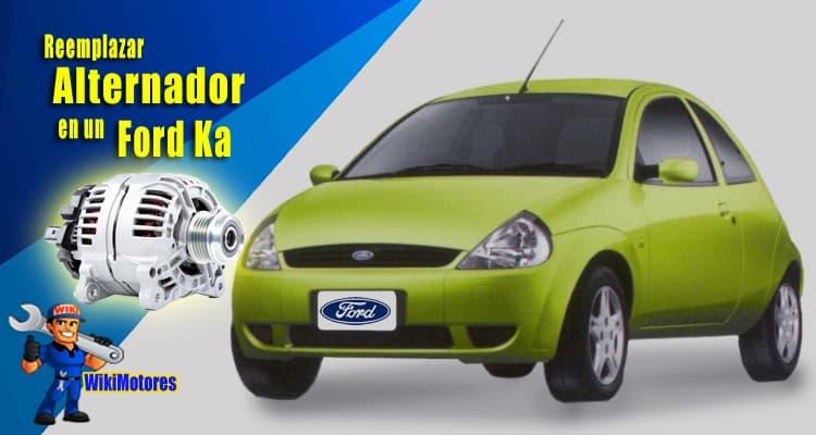 Reemplazar el Alternador en un Ford Ka 1