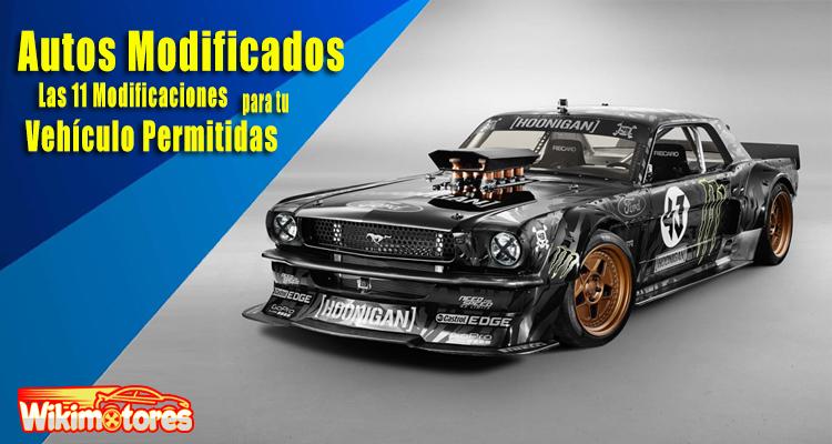 Autos Modificados, 01