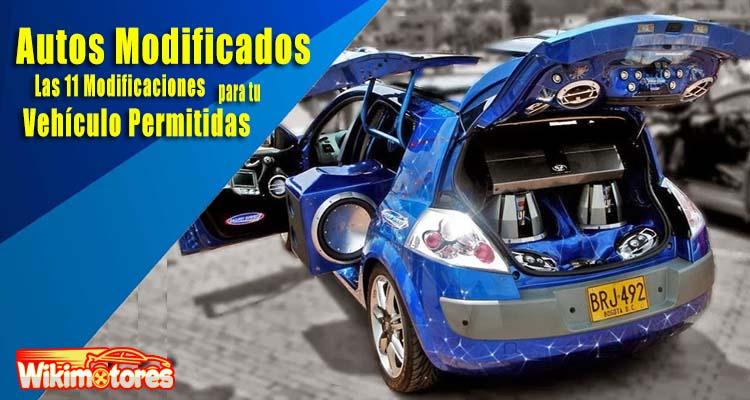 Autos Modificados, 13